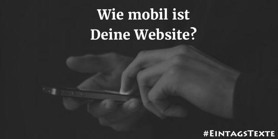 Wie mobil ist Deine Website? Mach den Test!