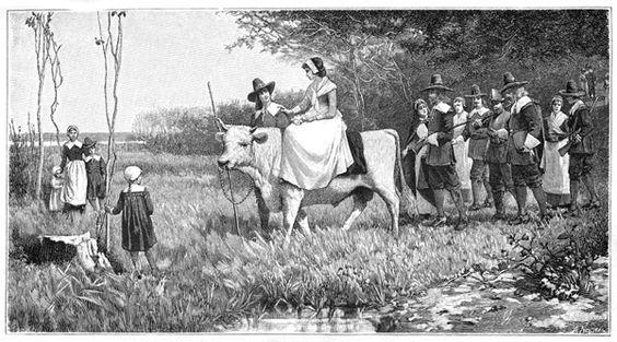 A Puritan Wedding Procession