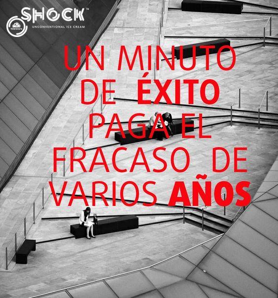 Un minuto de éxito paga el fracaso de varios años www.valencianashock.com