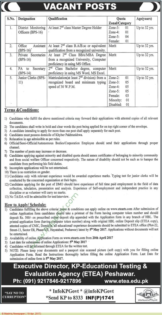 Kp Educational Testing \ Evaluation Agency Peshawar Jobs Jobs In - supervisor evaluation