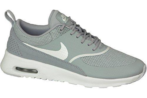 Nike - Wmns Air Max Thea - 599409021 - Farbe: Grau-Weiß - Größe: 35.5 - http://on-line-kaufen.de/nike/35-5-nike-air-max-thea-damen-sneakers