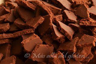 Más allá del gluten...: Chispas de Chocolate Caseras (Receta GFCFSF)