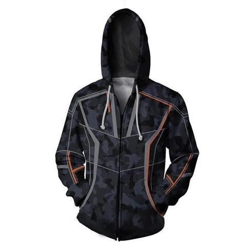Avengers 3 Infinite War Deadpool hoodie Sweatshirt Cosplay Costume Zip up Coat