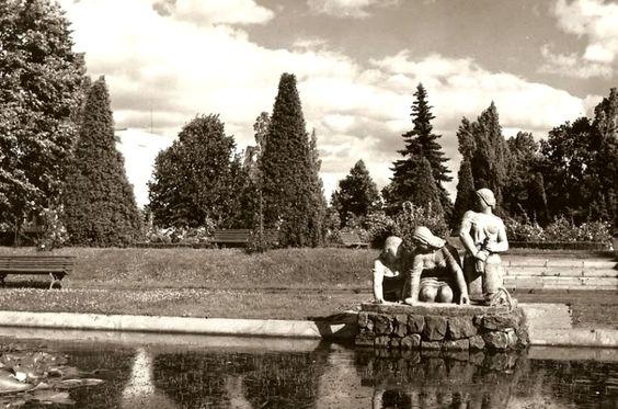 Park Planty, Białystok - 1967 rok, stare zdjęcia