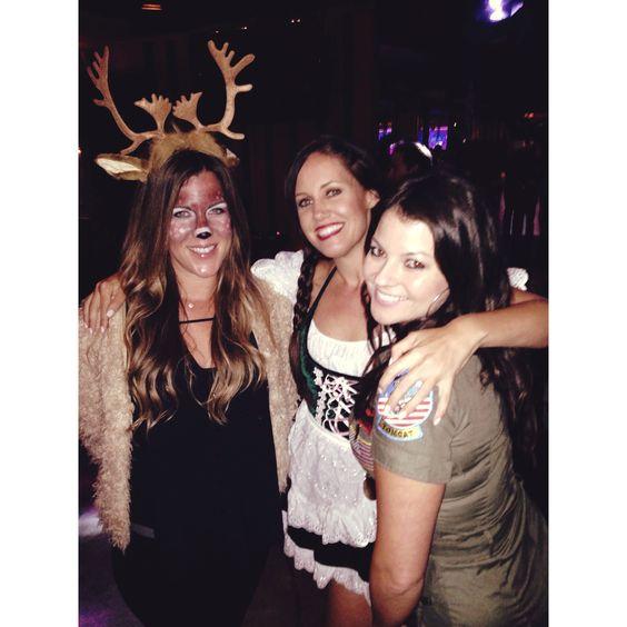 Deer Costume #antlers #deer