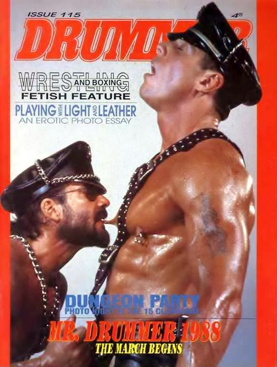 Drummer Magazine Gay 45