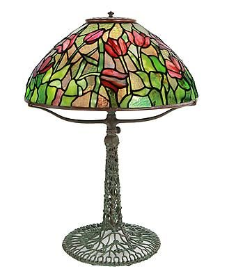 Tiffany Studios Table Lamps height: 24 in.	  x diameter: 16 in.