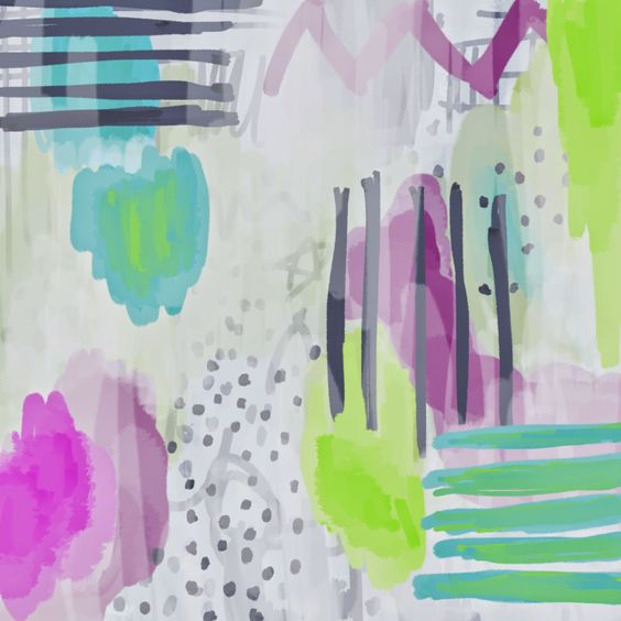 The Spinsterhood Diaries: Spinspiration: Photoshop painting