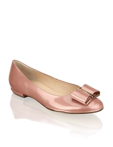 Lackleder Ballerina Hogl Rosa Schuhe Frauen Ballerinas Schuhe Schuhe Damen