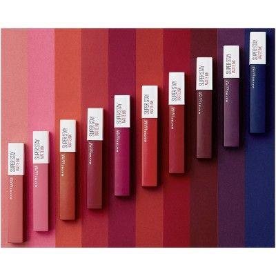 Maybelline Superstay Matte Ink Lip Color - 117 Ground-breaker ...