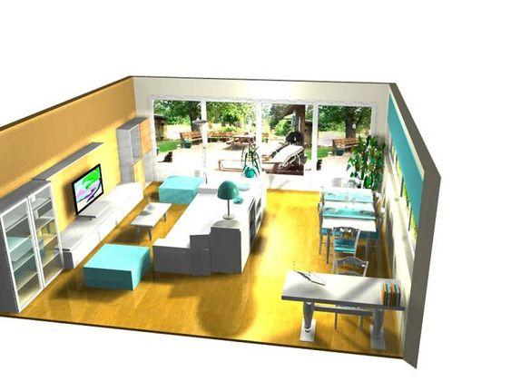 Ayuda distribucion salon comedor cuadrado salones for Decorar casa 30 metros cuadrados