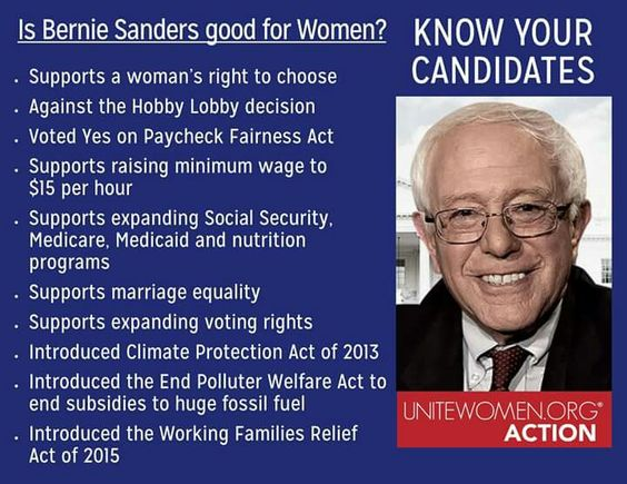 ‪#‎BernieSanders‬ announces his candidacy for President. Is he good for women? ‪#‎KnowYourCandidates‬  Bernie Sanders was a speaker at the UniteWomen.org 4/28/12 rallies and wrote a post-piece about women uniting against the war on women: http://www.huffingtonpost.com/rep-bernie-sanders/united-against-the-war-on_b_1464730.html