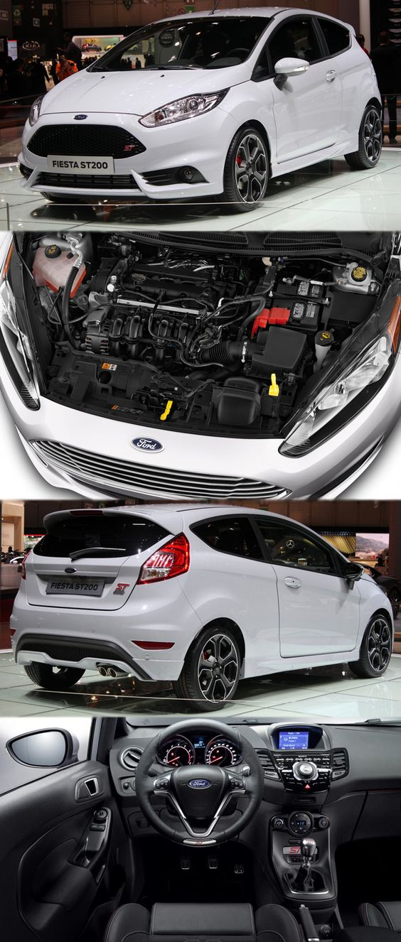 The Hot New Ford Fiesta Gets Has Confirmed Prices For With Power Up To Alloy Wheels And Fresh Paint Just 1000 Will Be Made