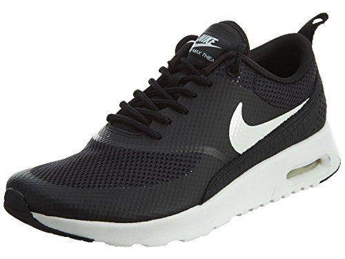 Nike Air Max Thea Women Schuhe black-summit white - 42 - http://uhr.haus/nike/42-eu-nike-air-max-thea-women-schuhe-white-black-40-5