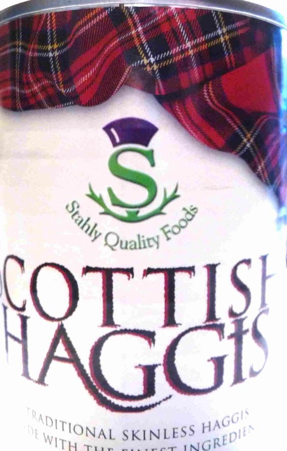 Haggis lovers anyone?  Great can design