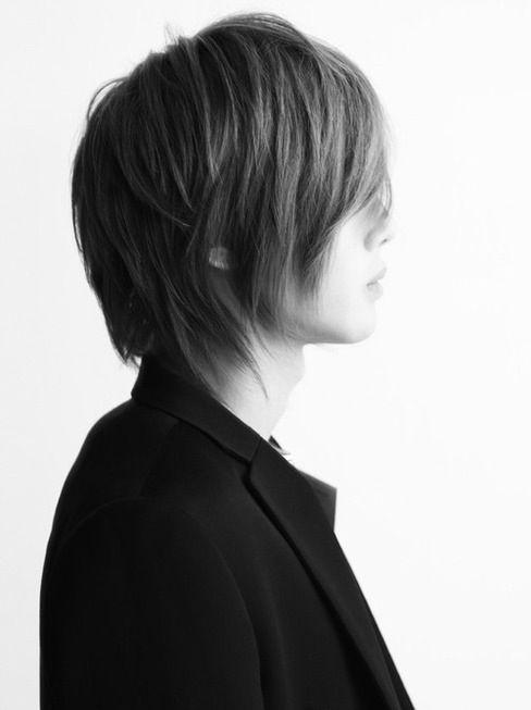 Kim Hyun Joong 김현중 ♡ black & white ♡ long hair ♡ Kpop ♡ Kdrama ♡