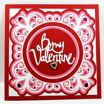 Cricut Valentine Card