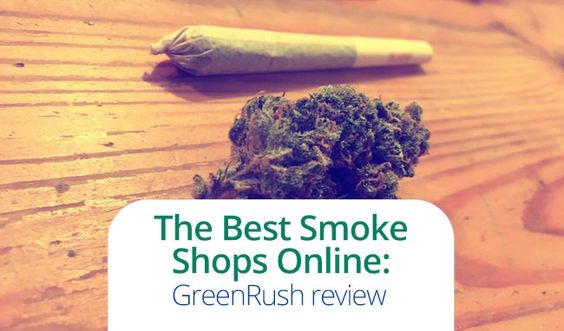 Best Smoke Shop Online GreenRush, Read our review about this on demand delivery service