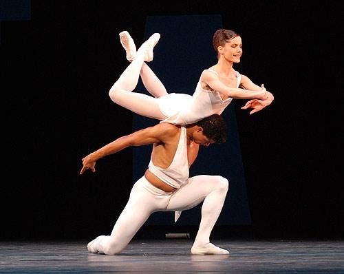 Darcey Bussell and Carlos Acosta