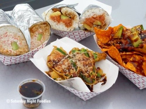 Jogasaki sushi burrito...must try this if i am ever in LA!