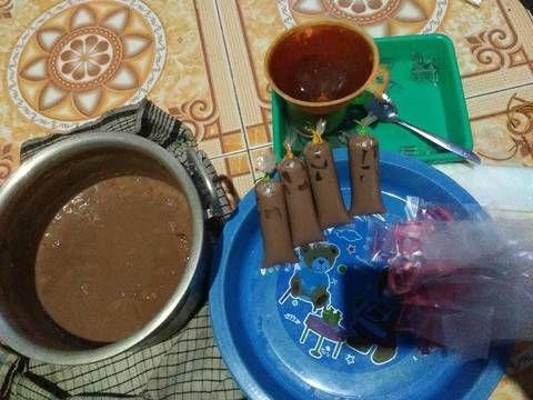 Resep Es Lilin Coklat Lembut Oleh Retno Puji Lestari Resep Resep Coklat Lilin