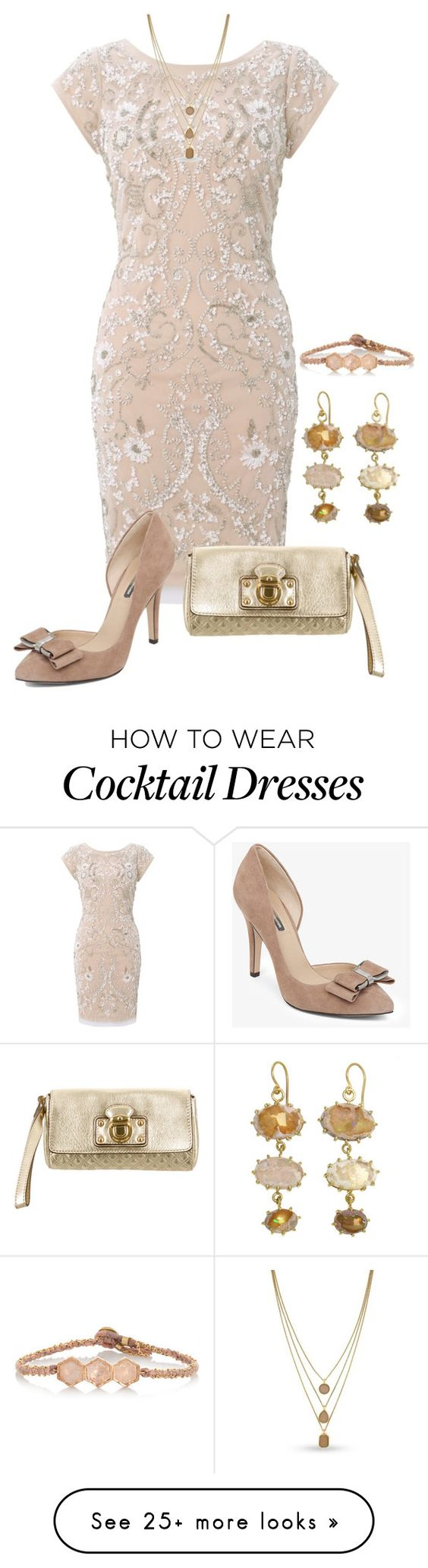 """""""Untitled #3051"""" by rkdk1101 on Polyvore featuring Aidan Mattox, BCBGeneration, Marc Jacobs, BROOKE GREGSON and Vince Camuto"""