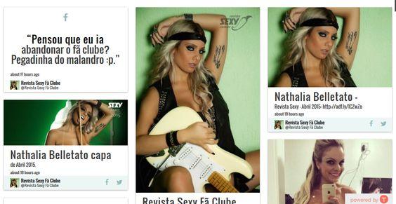 Agora você poderá ficar por tudo o que rola na página dentro do site! Confira: http://www.ensaiosexyfaclube.com/#!revista/c1efi