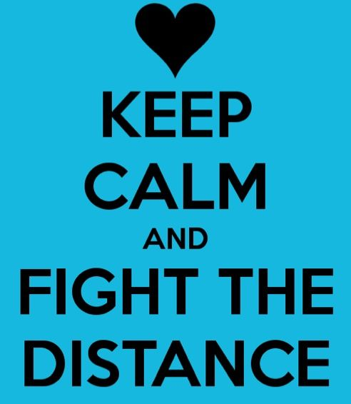 how to stay calm in a long distance relationship