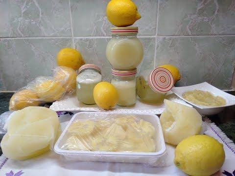 عصير الليمون الحامض بدون مرورة تصبيره خارج الثلاجة سنة اواكثر 3 طرق تخزين في المجمد Youtube Food Cheese Dairy