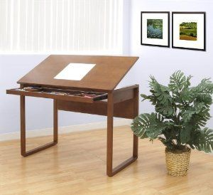 Ponderosa Wood Topped Table by Studio Designs. $195.88. 16 Top Angle Adjustments from Flat to 30 Degrees. 5 Partition Wooden Drawer for Storage: 31 in. W x 10.5 in. D. Main Worksurface 42 in. W x 24 in. D. 42 in. W x 24 in. D x 30 in. -41.5 in. H. Solid Wood Frame and Legs. 16 Top Angle Adjustments from Flat to 30 Degrees. Solid Wood Frame and Legs. 5 Partition Wooden Drawer for Storage: 31 in. W x 10.5 in. D. . 42 in. W x 24 in. D x 30 in. -41.5 in. H. Main Worksu...