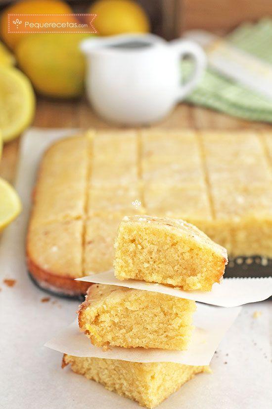 Los blondies de limón son parecidos a los brownies de chocolate. Descubre la receta paso a paso para hacer estos dulces caseros conocidos como lemon blondies.