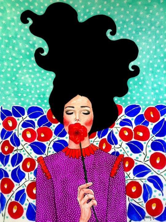 Ilustración de Hülya Özdemir