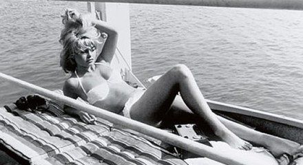Brigitte Bardot at Pampelonne Beach, St Tropez