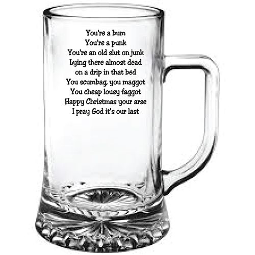 Personalised Glass Gifts Birthday Christmas Wedding Engrave Your Own Message