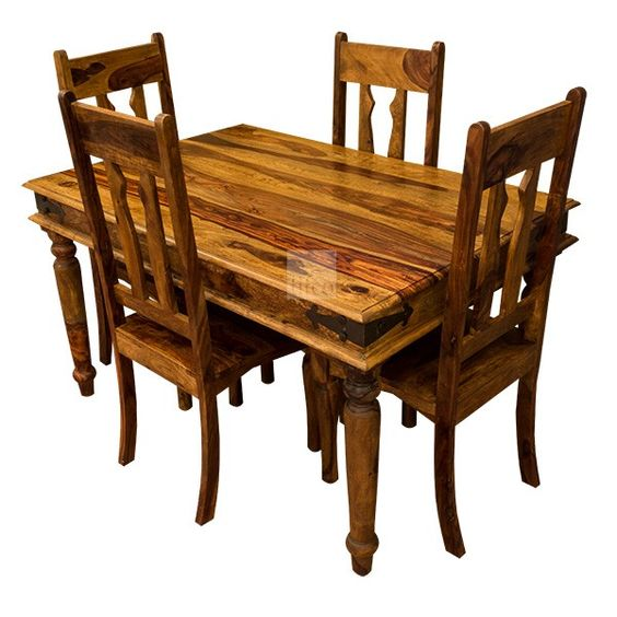jali sheesham dining table 3