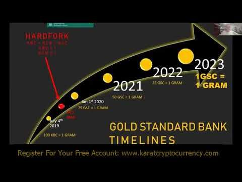 what is gold backed cryptocurrency