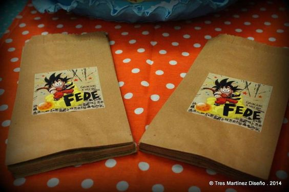 Ideas para fiesta de cumplea os ideas de fiesta and for Decoration murale dragon ball z