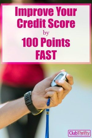 Bad credit? Fixing your credit score might seem impossible, but it's not. You can improve your credit score by 100 points pretty fast. Here's how!