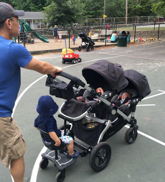 With summer gearing up and so many places to visit, here are our techniques for getting around with kids — three under 3, for us!