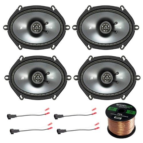 Car Speaker Set Combo Of 4 Kicker 40cs684 Car Speakers Car Audio Stereo Speakers