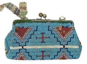 Sioux Beaded Purse