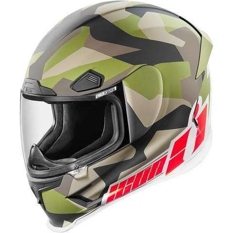 Icon Airframe Pro Deployed Full Face Motorcycle Motorbike Bike Helmet