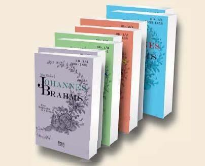 Johannes Brahms. Eine Biographie in acht Bänden