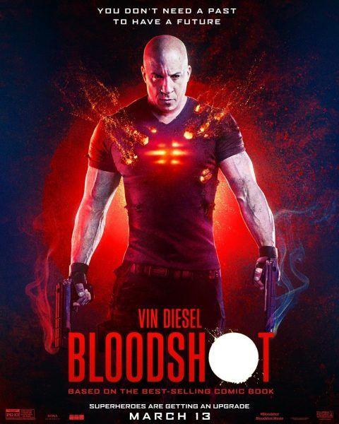 Bloodshot Em 2020 Com Imagens Vin Diesel Filmes Posteres De