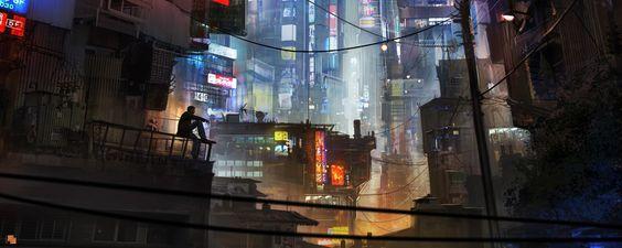Sci-fi by Llamas Florent | Sci-Fi | 2D | CGSociety