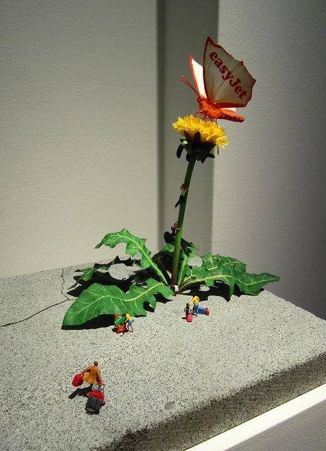 "Slinkachu - ""Escapism"" Global Model Village Show 2012, Andipa Gallery London"