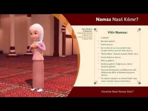 Vitir Namazi Nasil Kilinir Islam Ve Ihsan Dualar Youtube Islam