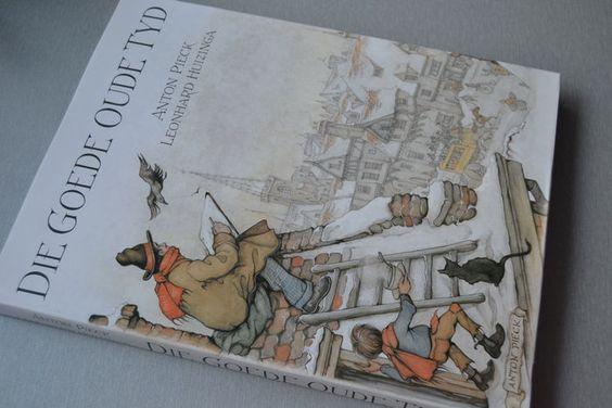 Geïllustreerd; Lot met 5 boeken van en over Anton Pieck - 1974/1981