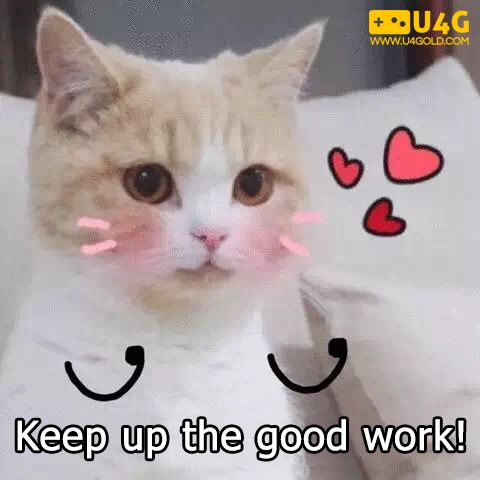 Keep Up The Good Work Internationalcatday Cat Kitty Cute Discount Gift Cards Cats International Cat Day