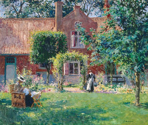 Artist Gari Melchers played an invaluable role in shaping the collectionof Telfair Museums. During his tenure as fine arts advisorfrom 1906 to 1916, Melchers facilitated the purchase of many ofthe best-known works in the permanent collection, includingiconic canvases by artists such as George Bellows, Childe Hassam,Robert Henri, and many others. Yet Telfair did not acquire …